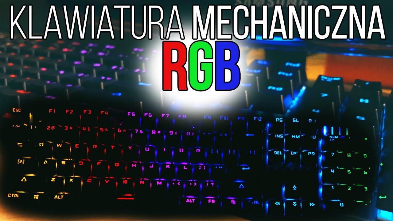 Klawiatura mechaniczna RGB za 180zł [Motospeed CK104] Recenzja Test