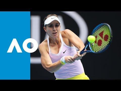 Belinda Bencic vs Jelena Ostapenko - Match Highlights (2R) | Australian Open 2020