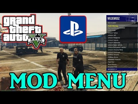 *Updated 2019* How TO INSTALL A PS4 GTA 5 MOD MENU!