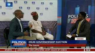APC,PDP Face Off On Issues Surrounding Osun Governorship Election  Pt.3 |Politics Today|