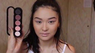 GWL №9.Make-up for Asian eyes!Видео урок на макияж Эстет!Нежный макияж в розовых тонах.