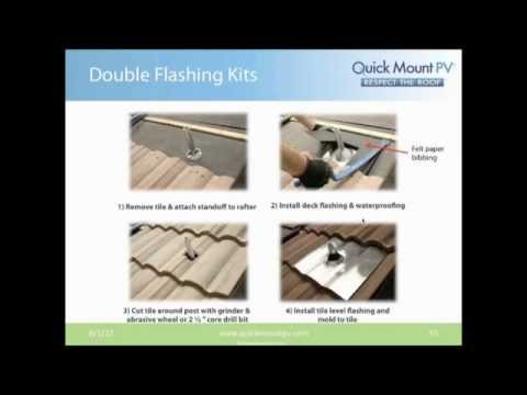 Quick Mount PV Webinar - Solar Roofing Best Practice - Residential | RENVU.com