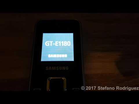 Samsung GT-E1180 Super Reset