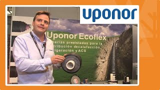 Uponor en Expobiomasa 2019: novedades en eficiencia energética UPONOR Port y Tuberías  Ecoflex