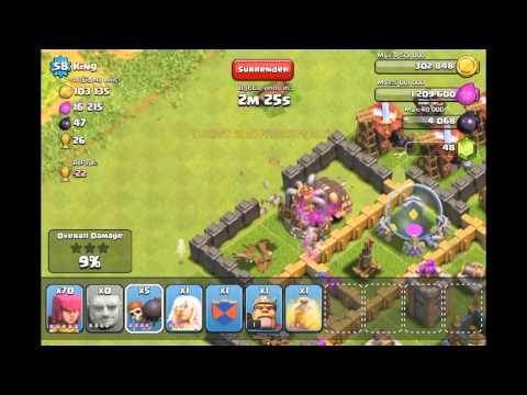 Astuce d'attaque dans clash of clan