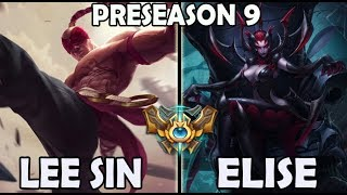 Peanut Lee Sin vs Elise (Jungle) Ranked Challenger Korea