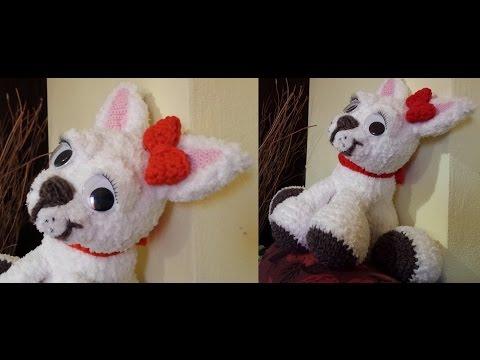Amigurumi Lion Perritos : Tutorial cagnolino all'uncinetto amigurumi crochet dog crochet