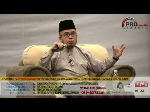 14-10-2017 SS. DATO' DR. MAZA : Muslim Di Timur,Islam di Barat & Takdir Atau Pilihan