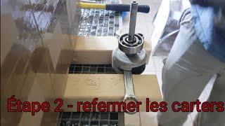 Remontage moteur Peugeot 103 /Étape 2
