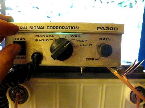 federal signal corporation siren