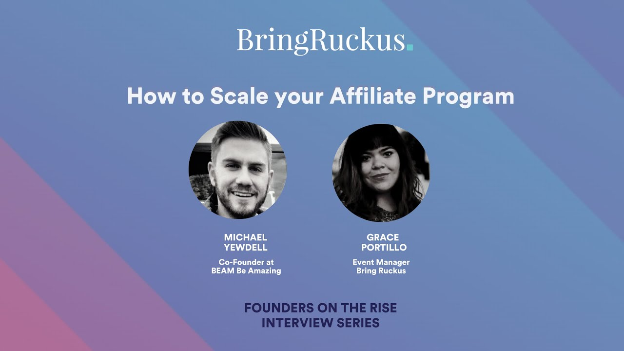 How to Scale your Affiliate Program