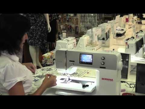 """Bernina 7 Series """" Buttonholes on your Bernina with Robyn."""
