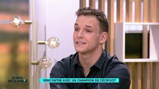 Théo Curin - Hakim Arezki, un joueurinternational français de cécifoot