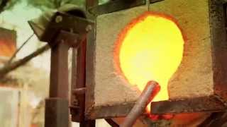 Glass Blowing - From raw glass to beauty