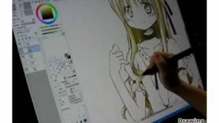 漫画家 蒼樹うめ - Drawing with Wacom (DwW) ひだまりスケッチ 検索動画 50