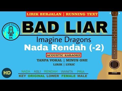 karaoke-lower-bad-liar---imagine-dragon