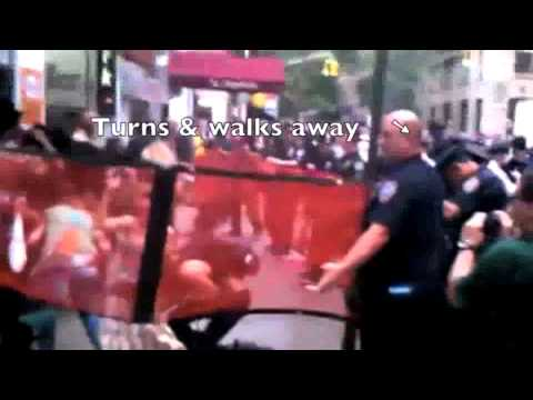 Police Mace Peaceful Female Occupy Wall Street Protesters