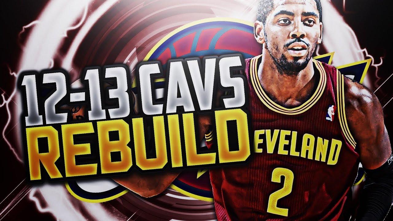 SIGNING LEBRON! !  12- 13 CLE CAVS REBUILD!! NBA 2K18 - YouTube 060ecd886