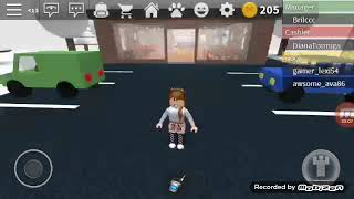 Playing Pizza Plase Roblox