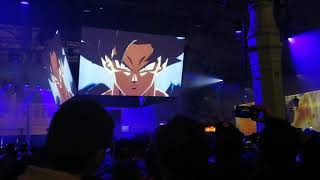 MUI GOKU AND KEFLA REVEAL (CROWD REACTION)  Dragon Ball Fighterz