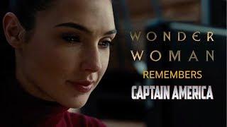Wonder Woman remembers Captain America