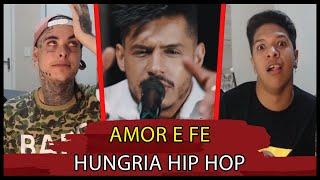 (RAP ACUSTICO!!) Hungria Hip Hop - Amor e Fé | REACT / ANÁLISE VERSATIL