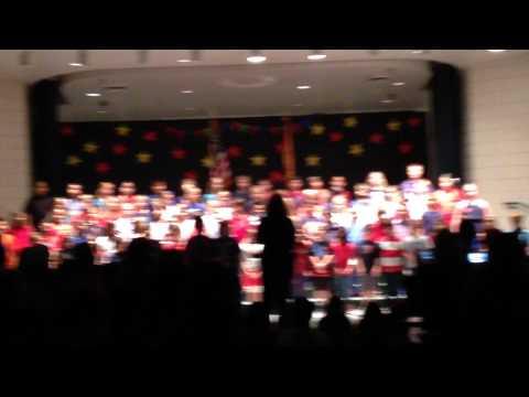 Settlers Point Elementary school MLK celebration