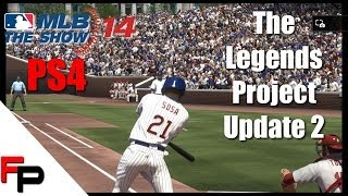 MLB 14 The Show - PS4 - The Legends Project: Episode 2 - Huge Update