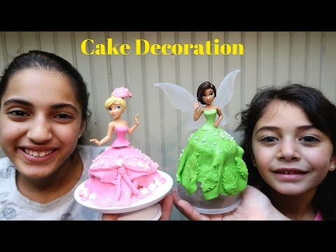 Cake decorating challenge !Toys princess cake decoration - HZHtube Kids Fun