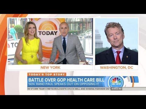 Sen. Rand Paul: We ran on repealing, not keeping, Obamacare - June 23, 2017