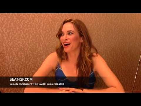 Danielle Panabaker THE FLASH Interview Comic Con 2016