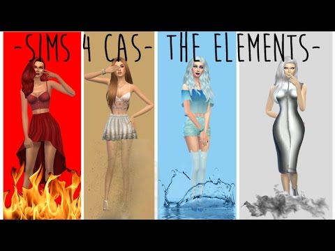 - The Sims 4 CAS - The Elements -