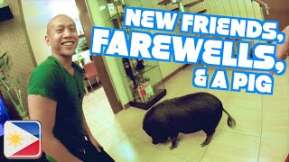 NEW FRIENDS, FAREWELLS, & A PIG | Philippines Part 13 (FINALE)