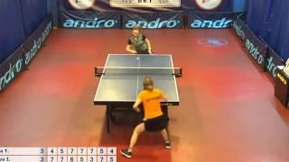 Best Balls of 7tt table tennis Morozova I. - Burikova T. 10.02.18