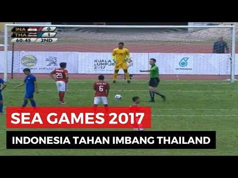 Indonesia vs Thailand Seri 1-1 SEA Games 2017 - Highlights and All Goals - 15 Agustus