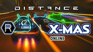 Distance Gameplay - PC Racing Game / Christmas Online Multiplayer Race Mode 1