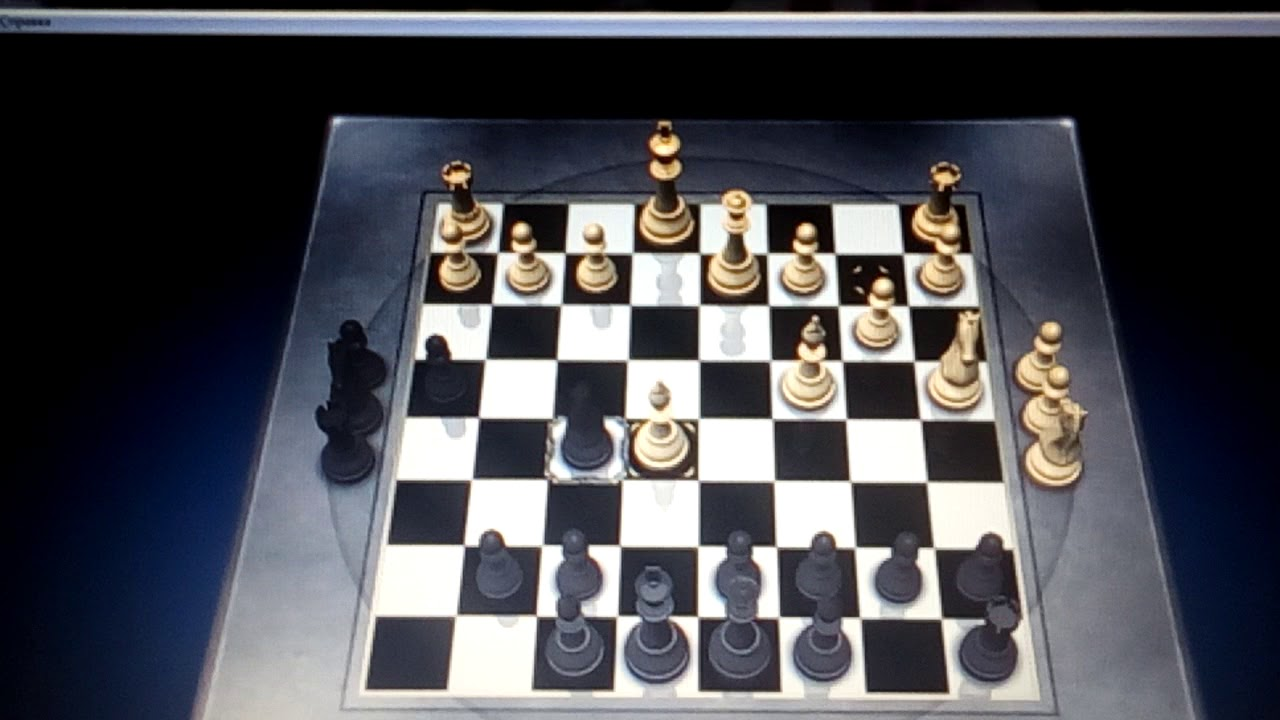 Показывает детский мат в шахматах