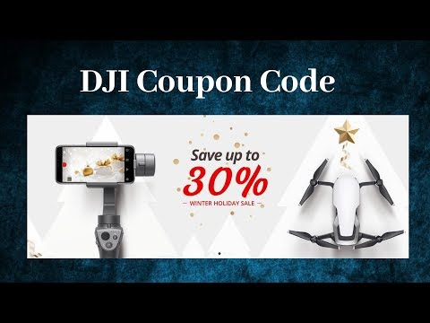 DJI Coupon Code 2019: 10% Off Coupons For Mavic, Spark & Care Refresh Discount Codes