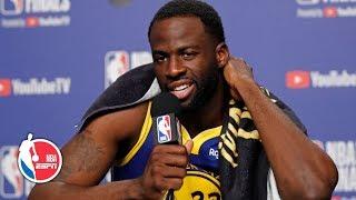 Draymond Green Game 2 postgame interview | 2019 NBA Finals