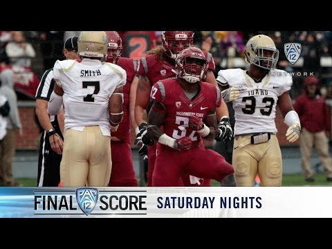 Recap: Washington State football grabs first win with rout over Idaho