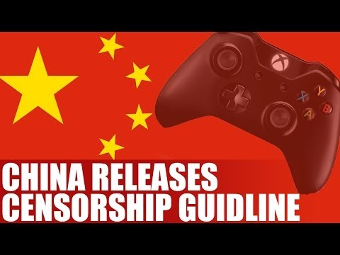 China Releases Censorship Guidelines For Games - Guidelines For Publishing Console Games In China