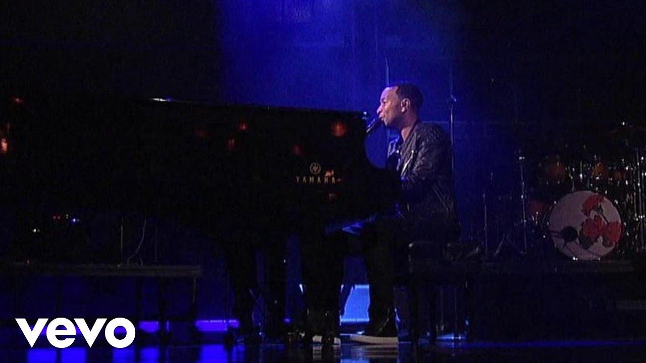 Download John Legend - All Of Me (Live on Letterman)