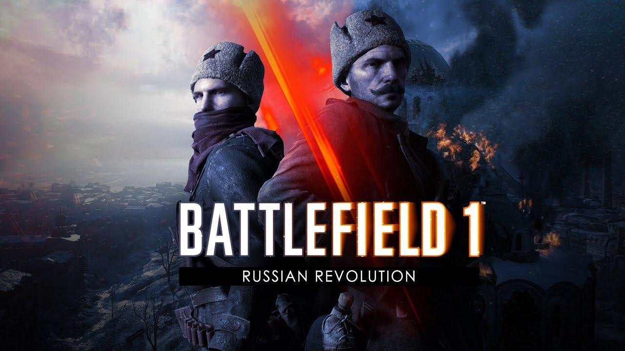 Battlefield 1 Russian Revolution Trailer Youtube