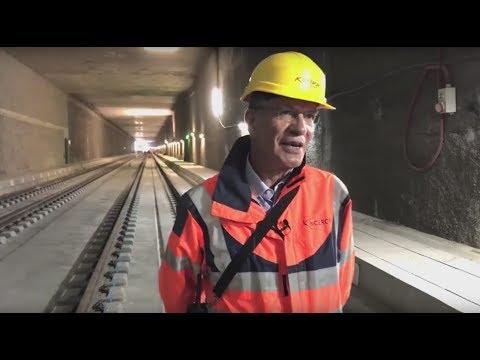 Le CEVA, un train d'union à la frontière franco-suisse
