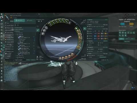 EVE Online Null-sec Drone Patrol #01 Raven T2 Cruise Missiles. 18-20kk/tick