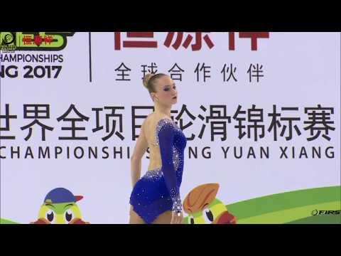 Letizia Ghiroldi, Word Roller Games Nanjing 2017