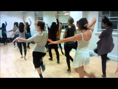 Miriam Oppel's Ladies Styling Class with UCLU Salsa Society
