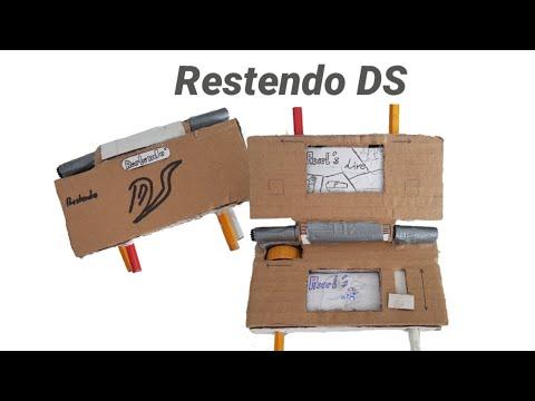 Restendo DS (Cardboard Nintendo DS)