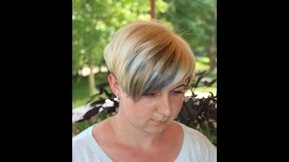 Красим волосы в синий.Как покрасить волосы самостоятельно (блонд)