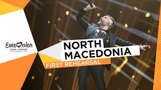 Vasil - Here I Stand - First Rehearsal - North Macedonia 🇲🇰 - Eurovision 2021
